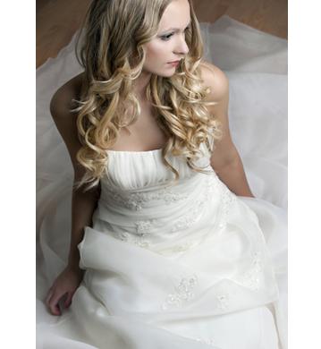 bridal hair style milwaukee WI
