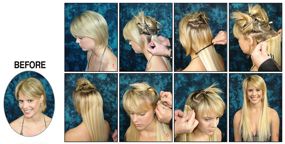 How to put hair up with extensions in gallery hair extension how to put clip in extensions into short hair the best short brown black blonde hair pmusecretfo Image collections