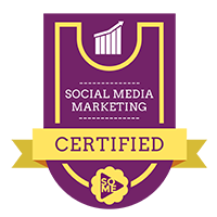 social media certified badge